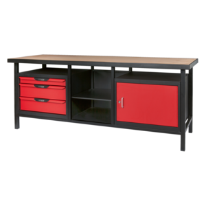 ks tools etabli professionnel d 39 atelier 1 porte et 3. Black Bedroom Furniture Sets. Home Design Ideas