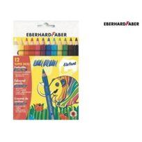 Eberhard-Faber - Eberhard Faber - Crayons De Couleur Big Winner, Mine ÉPAISSE - Lot De 12 Crayons - Couleurs Assorties