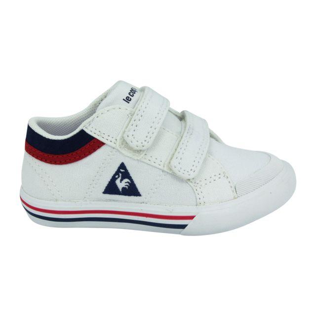 50cd0497fd49 Le Coq Sportif - Le Coq Sportif Saint Gaetan Inf Cvs Chaussures Mode  Sneakers Enfant