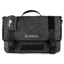 2435c12a8a Wewoo - Multifonction Toile Messenger Sac Ordinateur noir Portable  Bandoulière Business Briefcase Tablet Bag à main