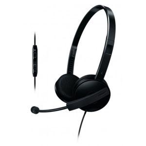 Philips - Shm3560/10 - Casque avec micro et contrôle de volume Noir
