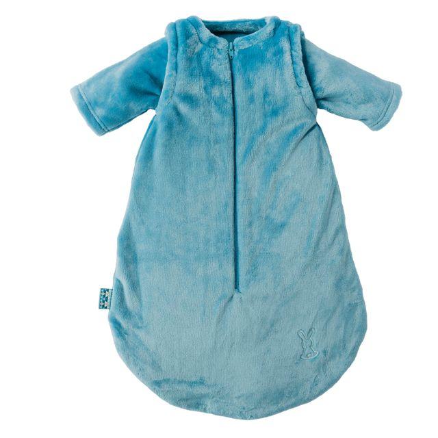 nattou gigoteuse avec manches d tachables bleu p trole. Black Bedroom Furniture Sets. Home Design Ideas