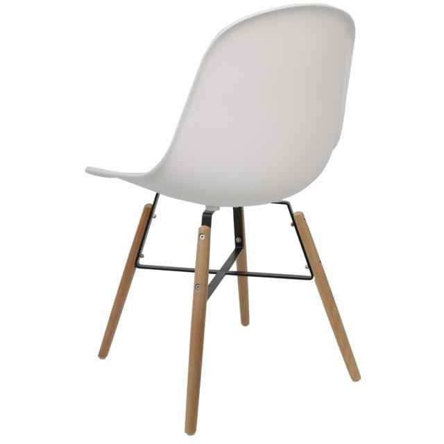 Chaise Avon Wx Couleur: Blanc Cadre