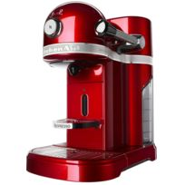 KITCHENAID - cafetière nespresso automatique 19bars pomme d'amour - 5kes0503eca