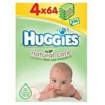 Huggies - Lingettes Natural Care Quatro -4x64