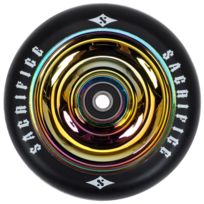 Sacrifice - Roue de trottinette Roue oil slick 110 mm Noir 10252
