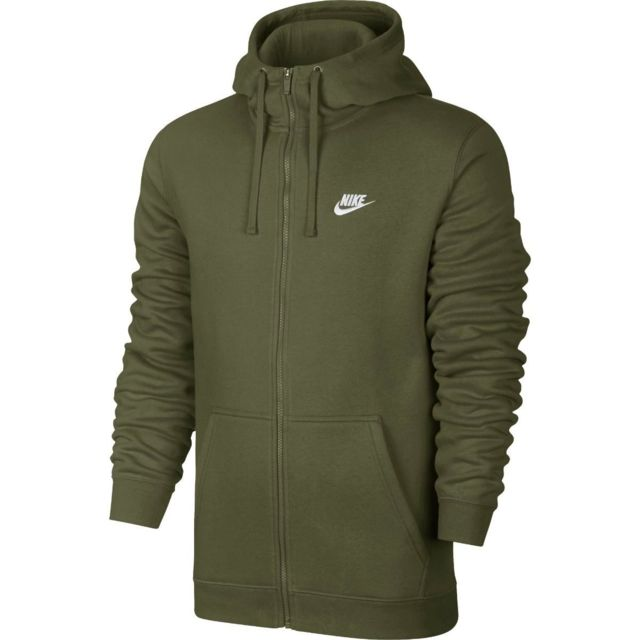 24cae1f3c3c76 Nike - Sweat à capuche Nike Sportswear Club Fleece Full-Zip - 804389-395
