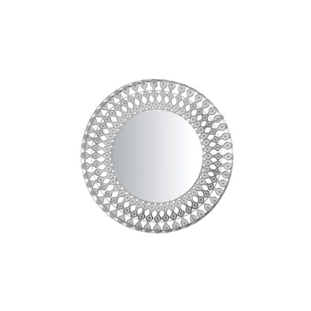 BELIANI Miroir argenté OREDON - argent