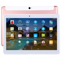 Yonis - Tablette 4G 10 Pouces Ips 2K Android Octa Core 2Go Ram 32Go Or Rose