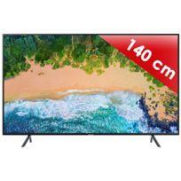 "Samsung - TV LED 4K UHD - 55"" 140 cm UE55NU7105TXXC - Noir"