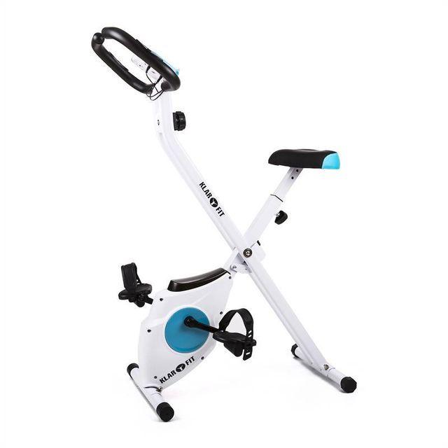 KLARFIT - Azura vélo d'appartement pliable avec pulsomètre 100kg
