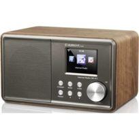 Albrecht - Radio de bureau Dr 471 audio, stéréo jack 3.5 mm, compatible Dlna bois