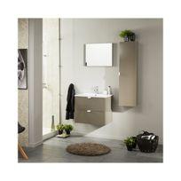 Meuble salle bain taupe - Achat Meuble salle bain taupe pas cher ...