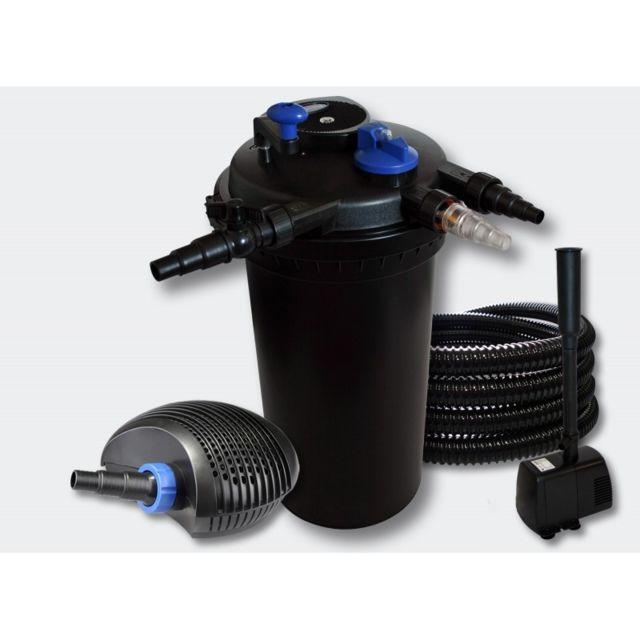 Aqua occaz kit filtre pression complet fontaine pour for Piscine b24