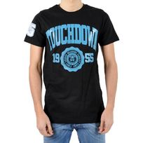 Beandbe Touchdown - T-shirt be and Be Touchdown 1955 Noir / Turquoise