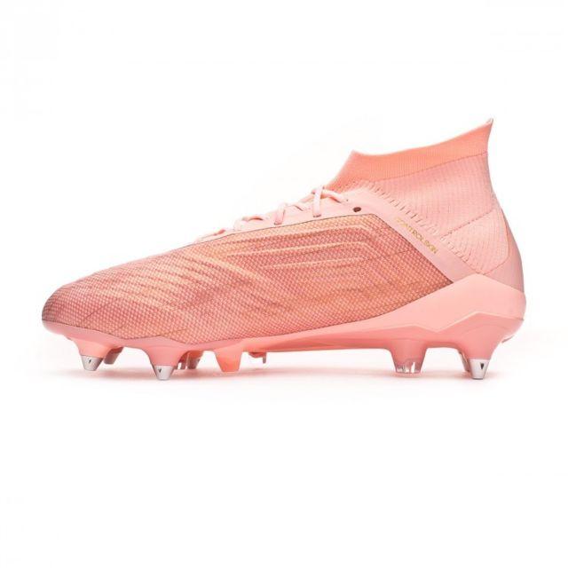 Adidas Predator 18.1 SG Clear orange Trace pink pas cher