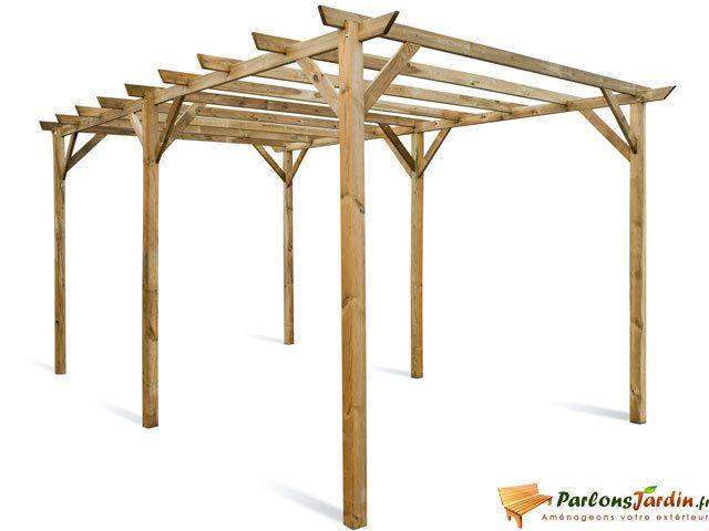 Jardipolys - Pergola tonnelle en bois Maranello