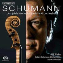 Bis - Robert Schumann - Intégrale des oeuvres pour violon et orchestre