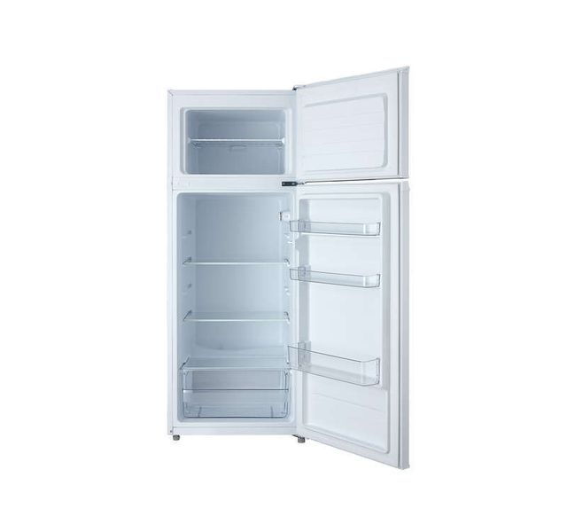 FRIGELUX Réfrigérateur 2 portes - RFDP215A+ - Blanc Volume Réfrigérateur : 166 L / Congélateur : 41 L - Dégivrage automatique - Thermostat mécanique - Portes réversibles - Autonomie : 15h ( congélateur ).