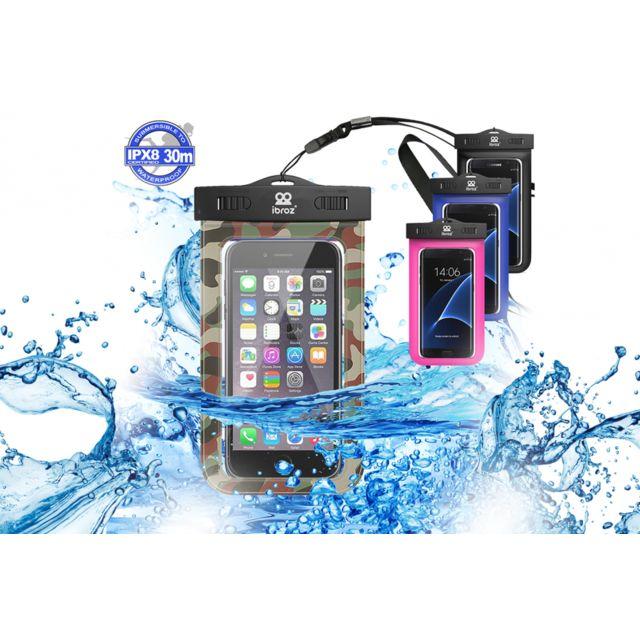 11cff48ae4 Ibroz - Pochette camouflage Etanche pour Smartphone jusqu'à 5.7 pouces - pas  cher Achat / Vente Appcessoires - RueDuCommerce