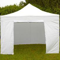 Mobeventpro - Mur porte zippable tente pliante Pro 40MM 4,5m blanc