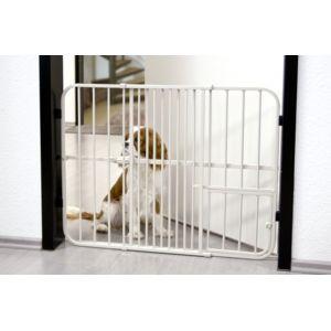 bonareva barri re de s curit extensible pet gate pour chien 61 cm pas cher achat vente. Black Bedroom Furniture Sets. Home Design Ideas
