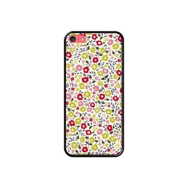 coque iphone 5c liberty fleurs nico