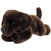 Keel Toys - Peluche Chien Labrador Chocolat 35 cm