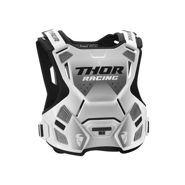 Blanc Thor Pare-pierre//Plastron Cross Adulte Sentinel Taille S//M