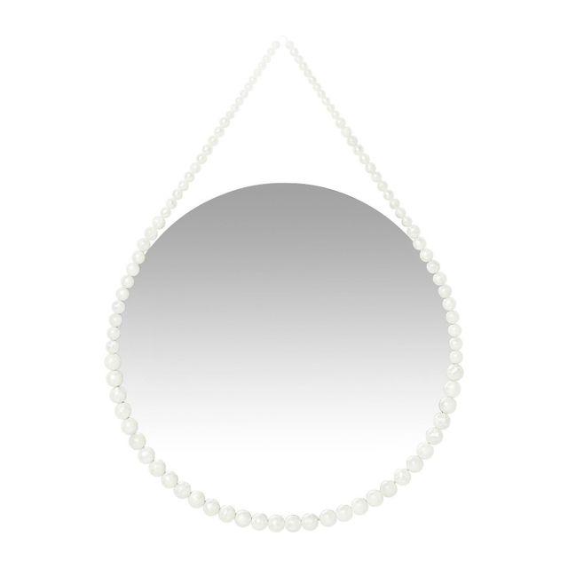 Karedesign Miroir White Pearl 50cm Kare Design
