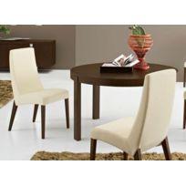 Connubiacalligaris - Calligaris Table repas extensible ronde Atelier 130x130 en bois