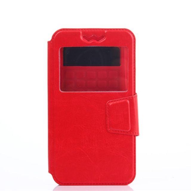 5 En Housse Rouge Cuir 5 Pour De 5 0 Universelle Coulissante Téléphone À Coque Pouces Portable Silicone ordxeBWC