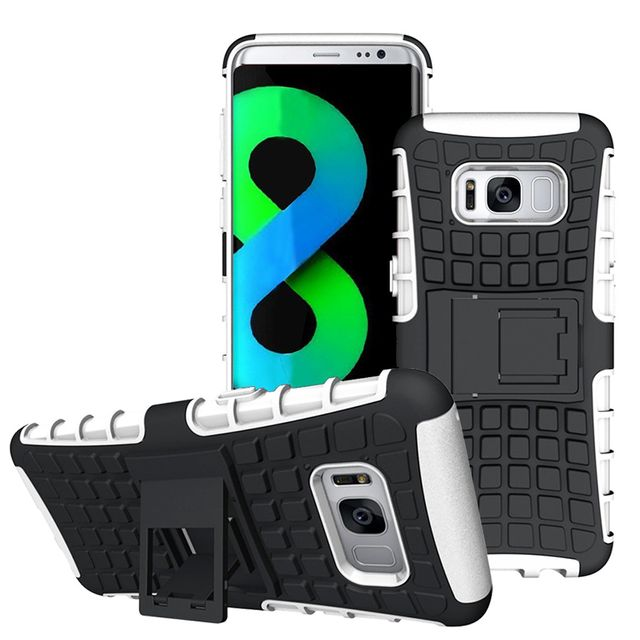 Lapinette - Coque Anti Choc Pour Samsung Galaxy S8 + Film - Blanc ... ea6d63dd8e19