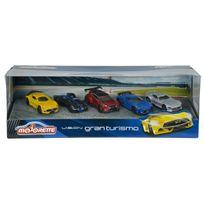 SMOBY - Coffret Cadeau de 5 véhicules Majorette Gran Turismo - 212054052