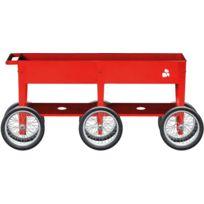 HERSTERA GARDEN - Potager en métal avec roues Urban