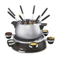 PRINCESS - fondue inox 1500w 8 fourchettes avec plateau rotatif - 172667-01-002