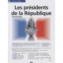 Aedis - les présidents de la République ; chronologie