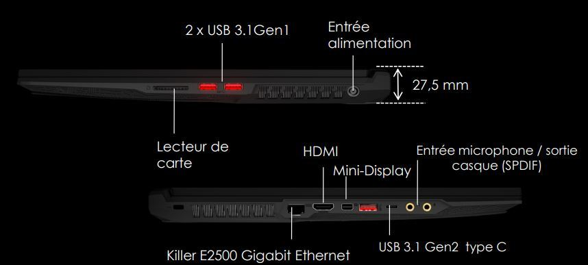 GE75-Raider-10SFS-432XFR - Noir