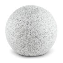 LIGHTCRAFT - Shinestone L Lampe de jardin ronde 40cm Style pierre