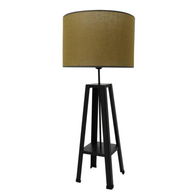 Metropolight Lampe Atelier Jaune Moutarde Pas Cher Achat Vente