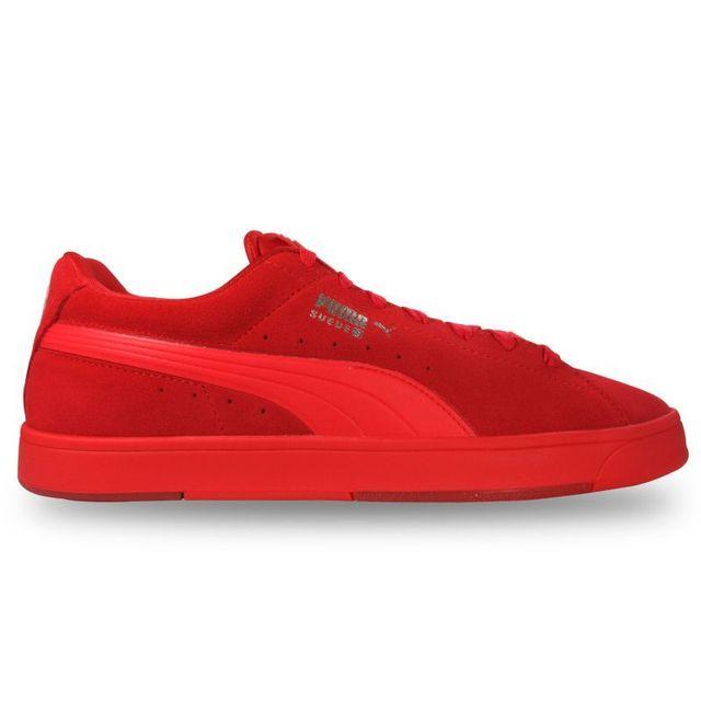 puma basket rouge