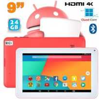Yonis - Tablette 9 pouces Android 6.0 Tactile Hdmi 4K 1,5GHz 1Go Ram Rose 24Go