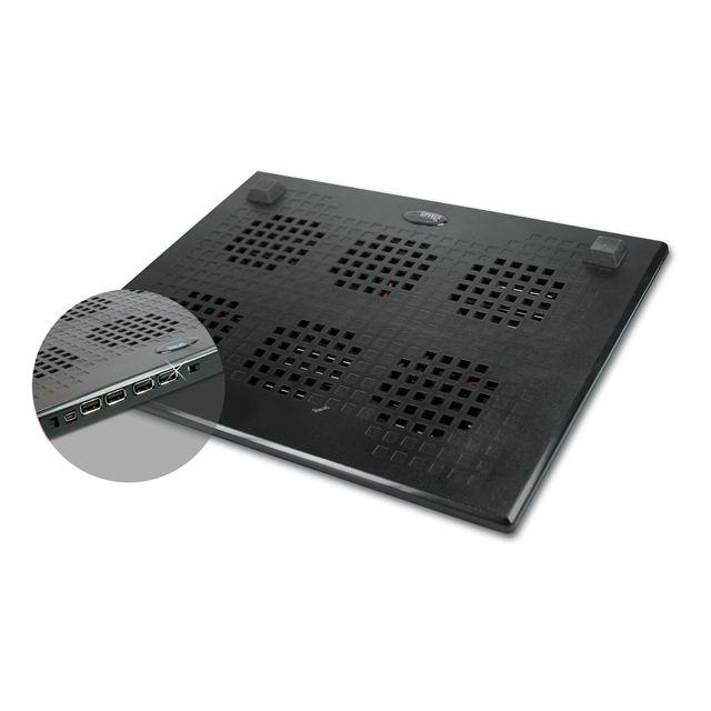 destockage spyker support ventil pour pc portable 12 17 pouces 3 ventilateurs pas cher. Black Bedroom Furniture Sets. Home Design Ideas