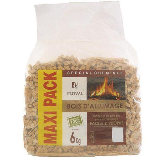 Bois d'allumage cheminée 6kg