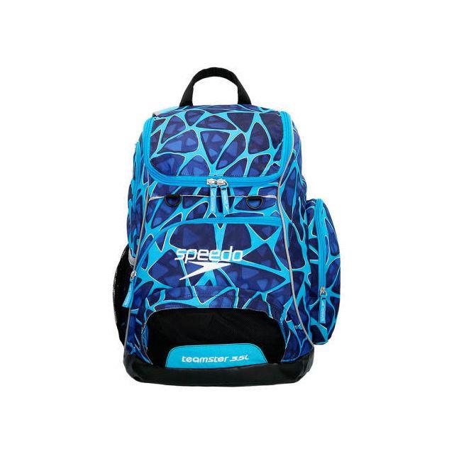 Speedo - Sac à dos de natation Teamster Backpack 35L bleu - pas cher Achat    Vente Sacs de piscine - RueDuCommerce a4693099c579
