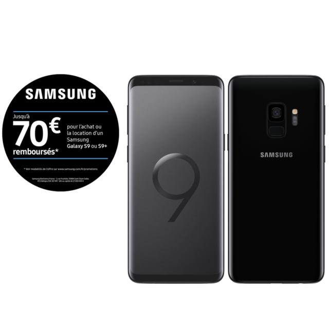 Samsung - Galaxy S9 - 64 Go - Noir Carbone