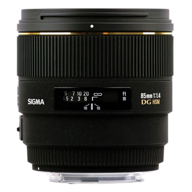 Sigma Objectif 85 mm f/1,4 Dg Hsm Ex Canon