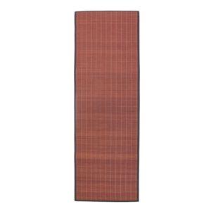 Mon Beau Tapis Tapis Bali Chic 200x65cm Chocolat Bambou Pas Cher Achat Vente Tapis
