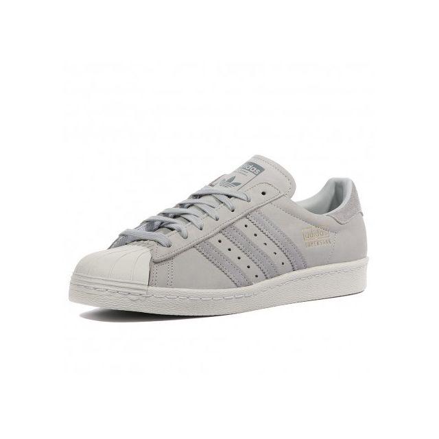 Adidas originals - Superstar Homme Femme Chaussures Gris Adidas 40 - pas cher Achat / Vente Baskets homme - RueDuCommerce