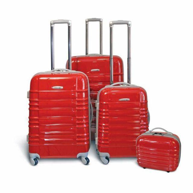 valise carrefour 4 roues Kinston - 3 Valises trolley 4 roues + Vanity - pas cher Achat - Vente  Valises, trolleys - RueDuCommerce